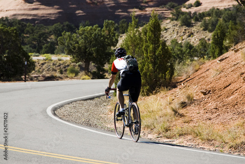Biking in Colorado Nat Monument