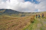 Hiking Uphill in Wasdale