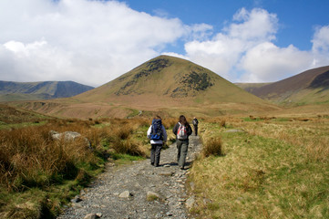 Hiking in Wasdale, Lake District