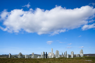 The Callanish standing stones