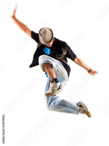 Tänzer beim Sprung