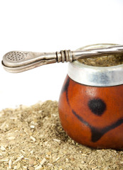 exotic drink: yerba  mate