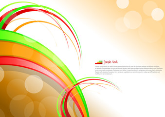 Elegant background, card. EPS10 vector illustration.