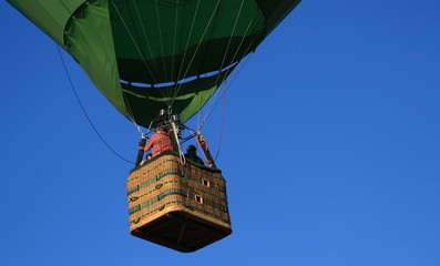 heißluftballon - korb