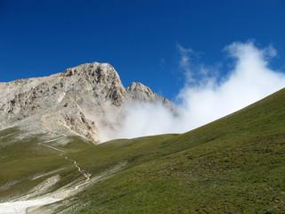 Corno Grande and Clouds