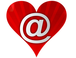 email love heart