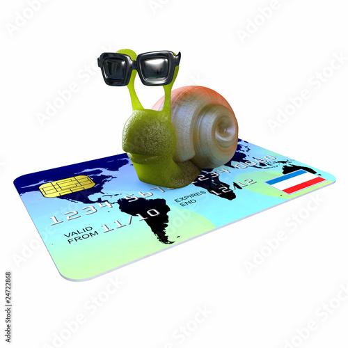 3d Snail has unlimited credit