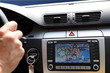 Exclusive car dashboard with  display gps panel