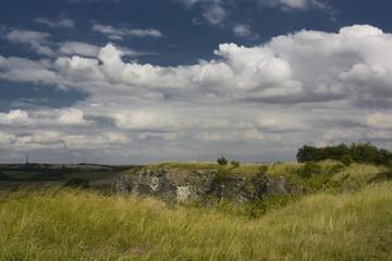 Stranska skala near Brno, Czech Republic