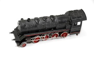 Modellino di locomotiva a vapore