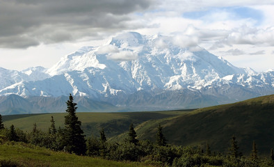 Denali's Mt McKinley from Kantishna