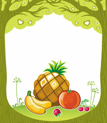 Fruity background