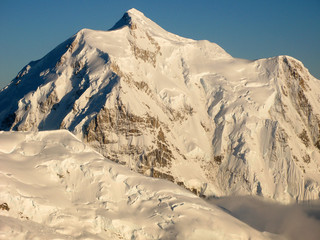 Denali's Mt McKinley from the Air