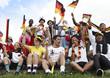 Fanjubel, deutsche Fans