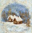 Winter village, application