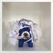 Leinwanddruck Bild - Innerer Schweinehund versinkt im Chaos