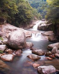 Mountain Stream in Wuyuan, China