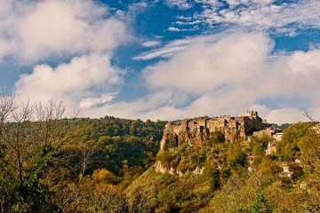 View of Calcata, Lazio - Italy