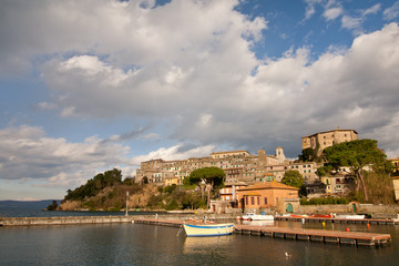 View of Capodimonte from the harbour
