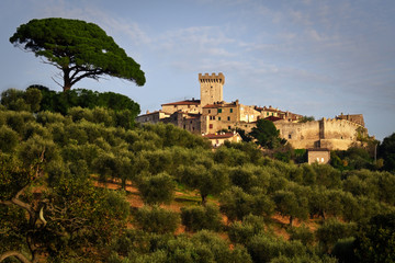View of Capalbio, Toscana - Italy
