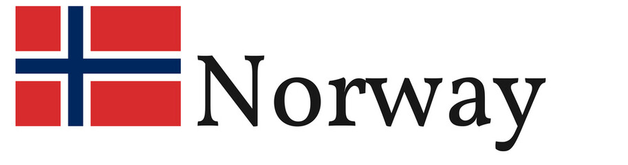 "Banner / Flag ""Norway"""
