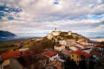 View of Montenerodomo, Abruzzo - Italy