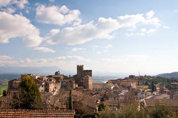 View of  Nazzano, Lazio - Italy