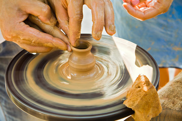 Teaching pottery