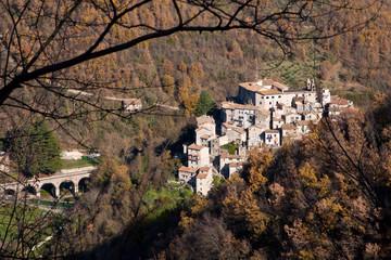 View of Percile, Lazio - Italy