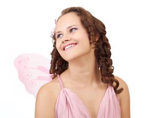 Smiling fairy.