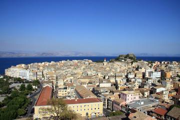 View of Corfu Greece