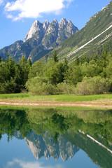Cinque Punte and Lago del Predil, Julian Alps
