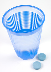 water and indigestion tablets