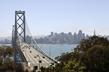 Bay Bridge Towards San Francisco