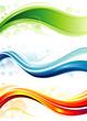 Set of technology web background/banner.