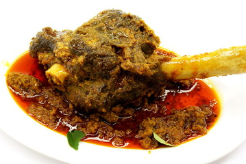 Curried Lamb Shank