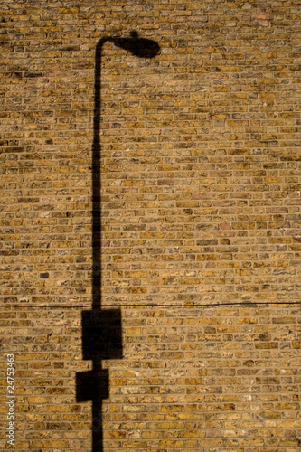 Lamp post shadow