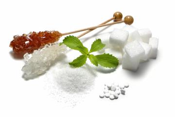 Stevia sowie andere Süßungsmittel