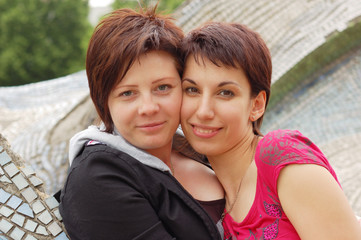 women couple