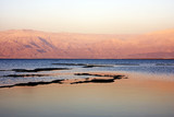 Fototapety Dead sea at sunset
