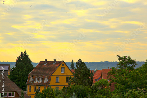 Houses in Rothenburg, Germany