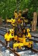 Gleisbau - Maschine