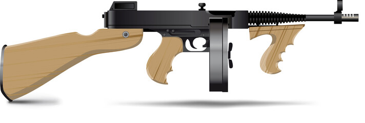Good old-fashioned gangsters Thommy Gun