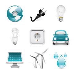 energy premium icons