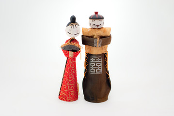 Chinese couple doll