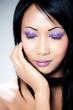 femme asiatique portrait beauté mode