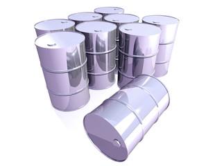 Chromed steel barrels