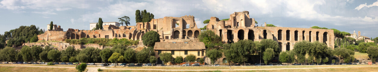 panorama palatino roma