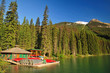 Emerald Lake & Canoes
