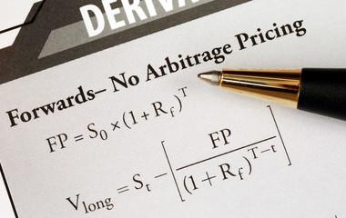 Study an advanced level financial mathematical formula